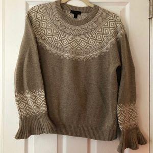 Wool Bell Wrist Sweater